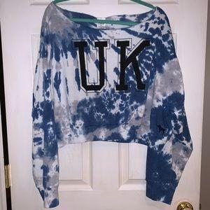 PINK University of Kentucky Crop Sweatshirt - NWT